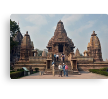 Lakshmana Temple Khajuraho AD 930-950 Canvas Print