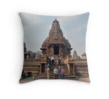 Lakshmana Temple Khajuraho AD 930-950 Throw Pillow