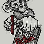 Monkey Bible Fiction by Brett Gilbert