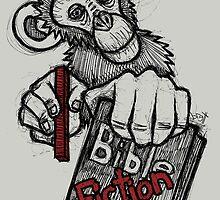Monkey Bible Fiction by Brett Gilbert