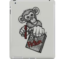 Monkey Bible Fiction iPad Case/Skin