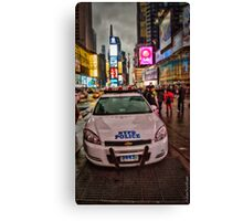 To Serve and Protect Canvas Print