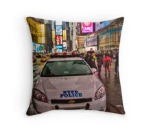 To Serve and Protect Throw Pillow