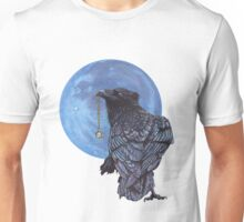 Treasure Seeker with Blue Moon Unisex T-Shirt