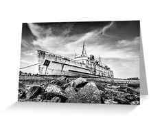 Final Voyage by Smart Imaging Greeting Card