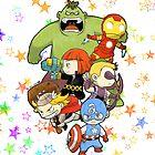 Babie Avengers by akensnest