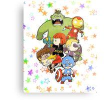 Babie Avengers Metal Print