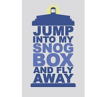 Snog Box (Tardis) Photographic Print