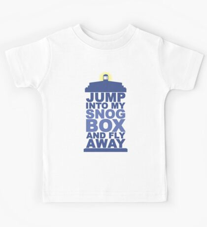 Snog Box (Tardis) Kids Tee