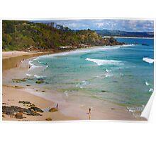 Wategos Beach Poster