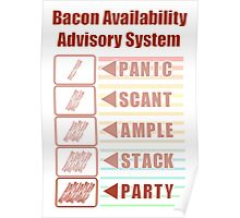Plentiful Bacon! Poster