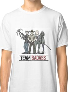 Team badass the walking dead Classic T-Shirt