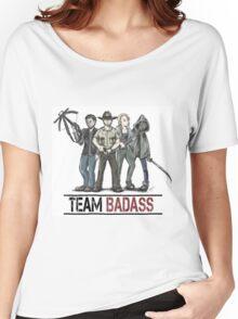 Team badass the walking dead Women's Relaxed Fit T-Shirt