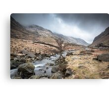 Down the Valley by Smart Imaging Canvas Print