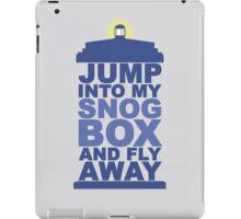 Snog Box (Tardis) iPad Case/Skin