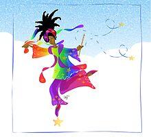 African Sky Dancer by elledeegee