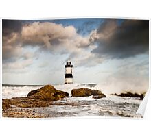 Stormy Seas by Smart Imaging Poster