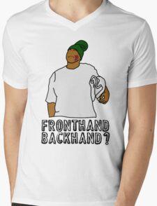Fronthand, backhand? Mens V-Neck T-Shirt