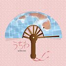 Asian Fan (uchiwa) by elledeegee