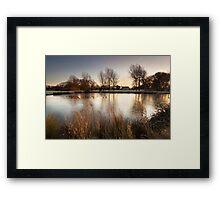 A Winter's Sunrise by Smart Imaging Framed Print