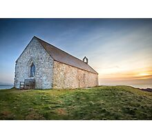 St. Cwyfan's Sunset by Smart Imaging Photographic Print