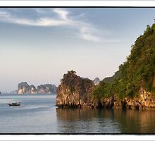 Halong Bay - Islands - Vietnam #03 by Malcolm Heberle