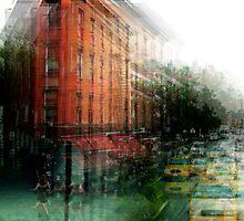 A Cab Kind of Corner by Galen  Bullington