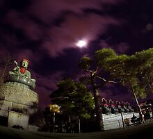 Zenkoji By Night by berndt2