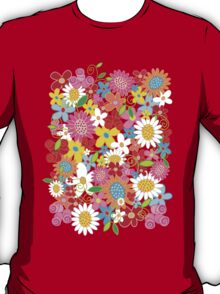 Spring Flower Power T-Shirt