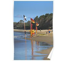 Between the flags on Sunday Poster