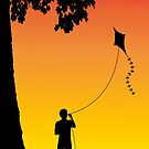 Childhood dreams, The Kite by John Edwards