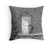 Steps to Oblivion Throw Pillow