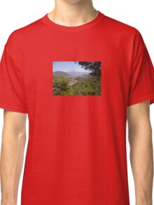 Landscape Of Icmeler Marmaris Turkey From Mountain Road Classic T-Shirt