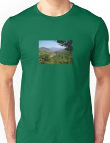 Landscape Of Icmeler Marmaris Turkey From Mountain Road Unisex T-Shirt