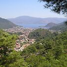 Landscape Of Icmeler Marmaris Turkey From Mountain Road by taiche