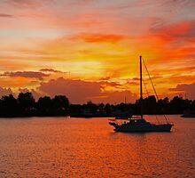 Marina Easter Sunrise by Arthur Koole