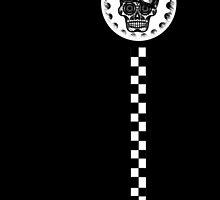 W'nR'n Cafe Racer Sugar Skull by wrenchNrideN