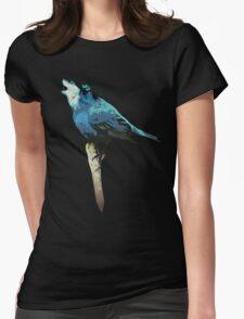 Word - Wolf-Bird Womens Fitted T-Shirt
