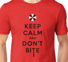 Keep calm and don´t bite Unisex T-Shirt