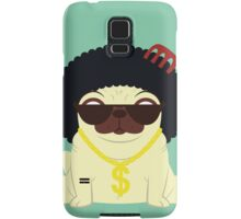 Pug in bling Samsung Galaxy Case/Skin