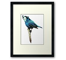 Word - Wolf-Bird Framed Print