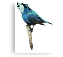 Word - Wolf-Bird Canvas Print