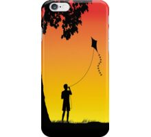 Childhood dreams, The Kite. Phone Case iPhone Case/Skin