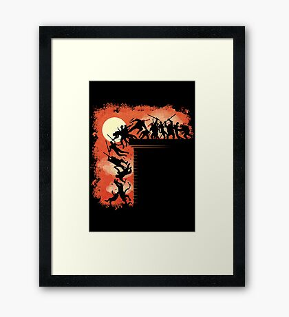 THIS IS COWABUNGA! Framed Print