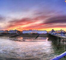 Pier Corner by Michael Baldwin
