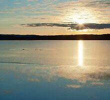 Lochindorb Sunset by OpalFire