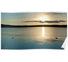 Lochindorb Sunset Poster