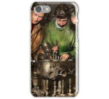Car Mechanic - In a mothers care 1900 iPhone Case/Skin