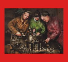 Car Mechanic - In a mothers care 1900 One Piece - Long Sleeve