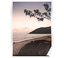 Ella Bay at Sunset - Far North Queensland Poster